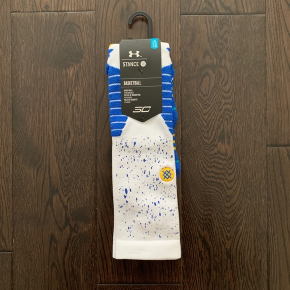 Stance x Under Armour SC30 Basketball Socks Large